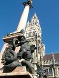 天使列圣母玛丽亚的慕尼黑 库存照片