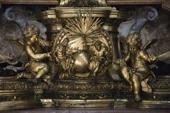天使创建彼得s圣徒 免版税库存图片