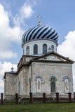 天使加尔金娜登上的迈克尔教会  免版税图库摄影