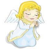 天使动画片 向量例证