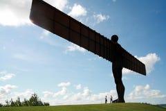 天使北部的英国 库存照片