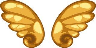 天使向量翼 免版税库存图片