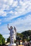 天使和天空 免版税库存照片