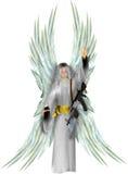 天使和平 免版税库存照片