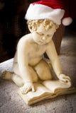 天使圣诞节查出的白色 图库摄影