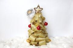 天使圣诞节查出的白色 库存图片