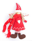 天使圣诞节装饰结构树 库存图片