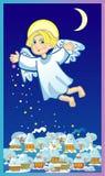 天使圣诞节 向量例证