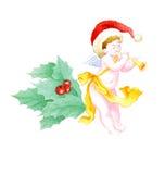 天使圣诞节 皇族释放例证