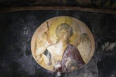 天使在圣洁救主的教会里在Chora,伊斯坦布尔 库存照片