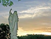 天使在晚上 图库摄影