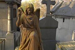 天使坟墓 库存照片