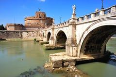 天使城堡意大利罗马st 库存图片
