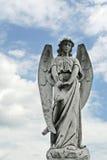 天使墓地世纪哀悼的第十九个雕象 库存图片