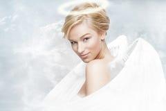 天使天堂 库存照片
