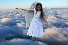 天使女孩 免版税图库摄影