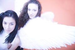 天使女性年轻人 图库摄影