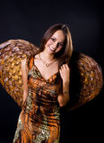 天使妇女 库存图片
