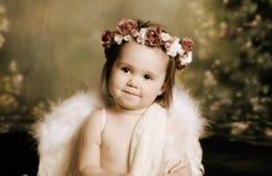 天使婴孩甜点 库存图片