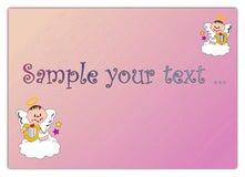 天使婴孩 免版税库存图片