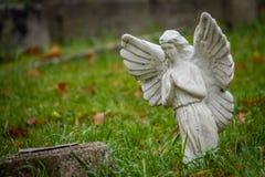 天使小雕象一点 库存照片