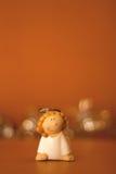 天使小雕象 免版税库存图片