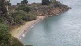 天使岛,加利福尼亚 库存图片