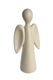 天使巧克力圣诞节白色 免版税库存照片