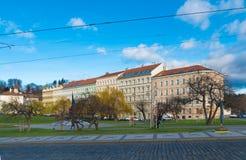 天使布拉格视窗 免版税库存图片