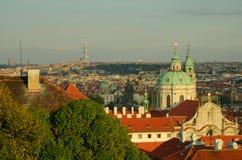 天使布拉格视窗 库存图片