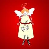 天使幸福 免版税图库摄影