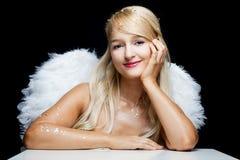 天使微笑 库存照片
