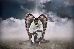 天使战士 库存照片