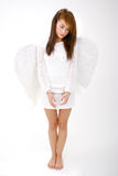 天使打了现有量 免版税库存图片