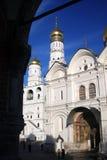 天使教会在克里姆林宫 科教文组织世界遗产站点 免版税图库摄影