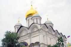 天使教会在克里姆林宫 科教文组织世界遗产站点 免版税库存图片