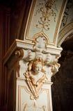 天使教会详细资料意大利语 库存照片