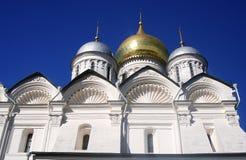 天使教会 克里姆林宫莫斯科 科教文组织世界遗产站点 库存照片