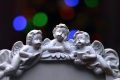 天使是很美好和逗人喜爱的 免版税库存照片