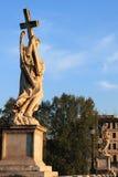 天使桥梁罗马圣徒 库存图片