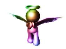 天使爱祈祷 免版税图库摄影
