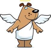 天使狗 免版税库存照片