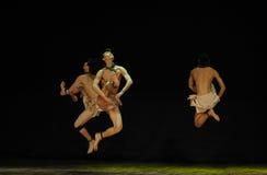黑天使现代舞蹈舞蹈动作设计者亨利Yu 免版税图库摄影
