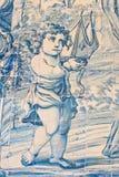 天使瓦片 库存图片