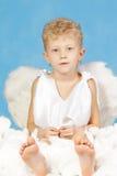 天使男 免版税库存照片