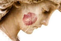天使的亲吻 免版税库存照片