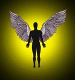 天使的图 免版税库存照片