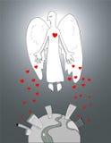 天使的慈悲 库存图片