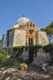 天使的教会,牧羊人领域, Betlehem,巴勒斯坦。 免版税库存图片