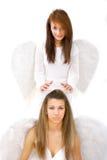 天使监护人 库存图片